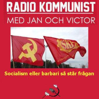 Socialism eller barbari så står frågan